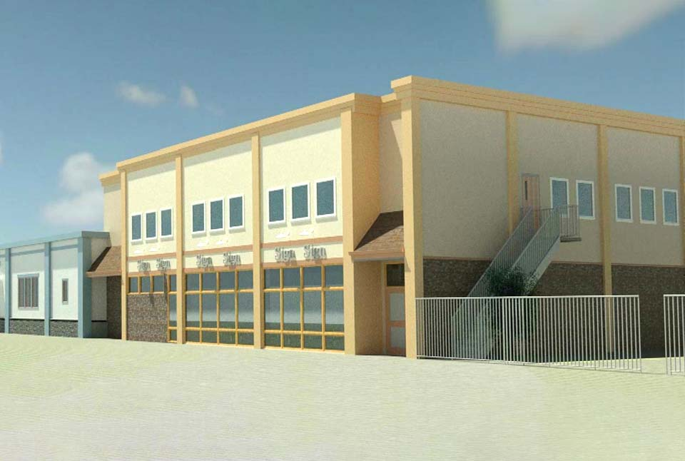 The design for the new Red Deer Dream Centre